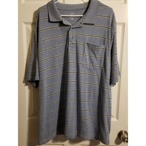 George Striped Short Sleeve Polo